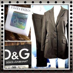 Dolce & Gabbana Italian Suit Authenticity Hologram